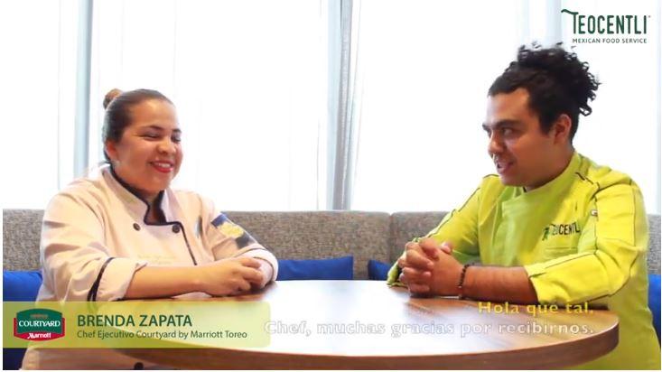 Entrevista con la Chef Ejecutiva Brenda Zapata del Hotel Courtyard Marriott Toreo