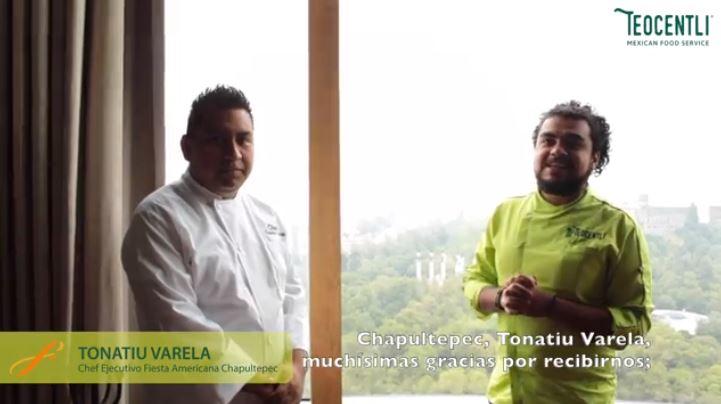 Entrevista con el Chef Ejecutivo Tonatiu Varela del Hotel Fiesta Americana Chapultepec